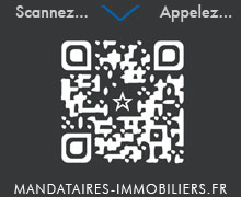 Scanner le QR Code Mandataires Immobiliers